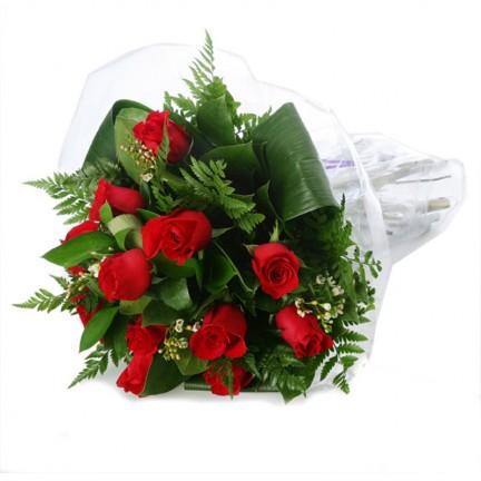 Dozen rosesbouquet