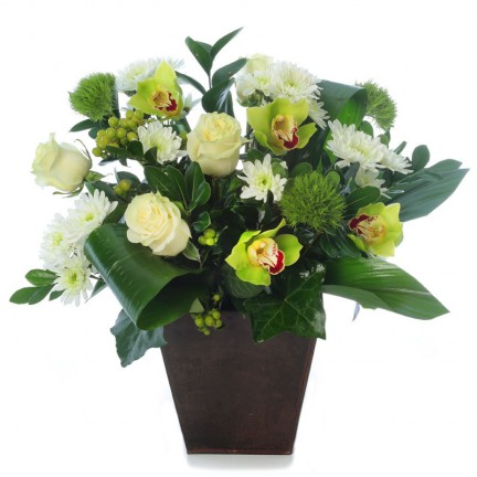 Dramatic Orchids & Roses