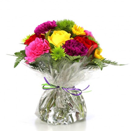 Flowers in convenient Water Pouch