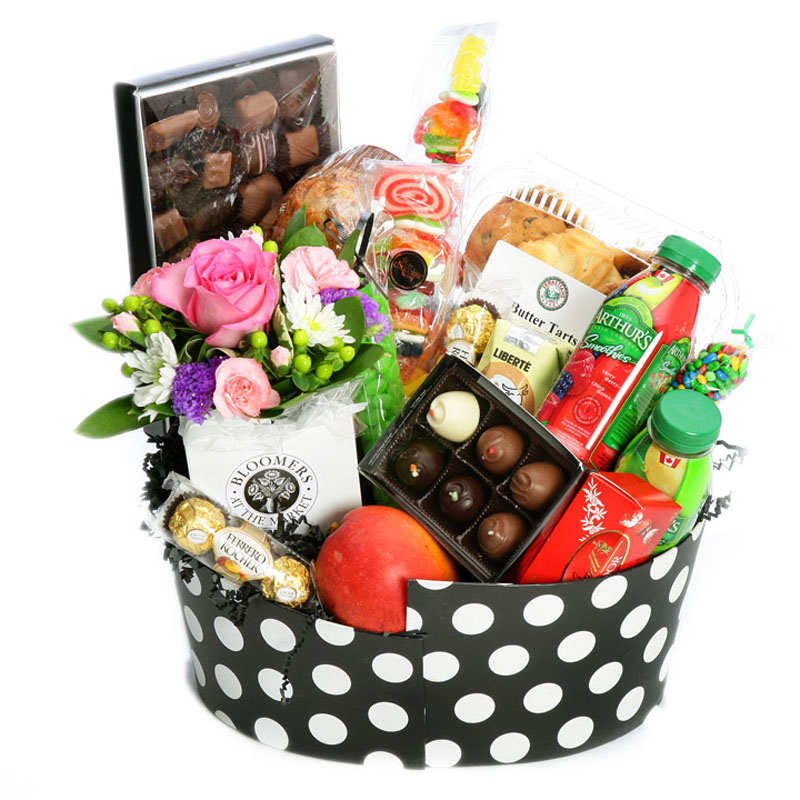 Sweet tooth gift basket flowers london on londons preferred sweet tooth negle Gallery